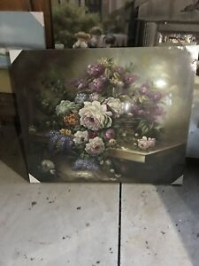 Large oil painting