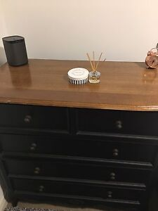 Beautiful chic vintage black dresser for sale Rhodes Canada Bay Area Preview