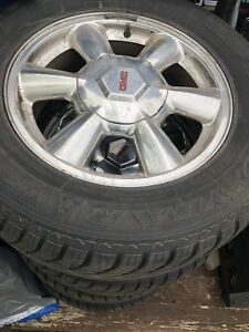 NEW goodyear winter tires +mags