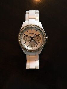 Ladies Stella fossil white watch