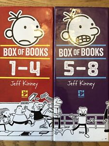 Diary of a Wimpy Kid book set books 1-8