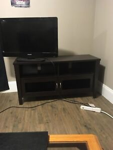 Tv stand all black