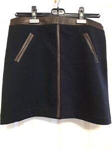 Club Monaco skirt with Leather trimmings