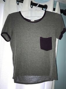 Small Grey and Purple T-Shirt