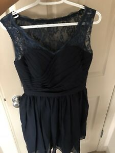 Navy dress size med