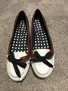 Women's Sperry Top Sider White Flats