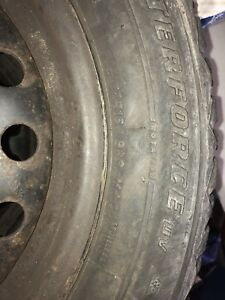 GREAT QUALITY WINTER TIRES WITH STEEL RIMS. 16inch