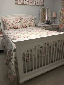 Double Head Board, Foot Board and side Rails