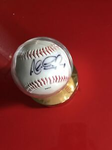 Alex Gonzalez signed baseball