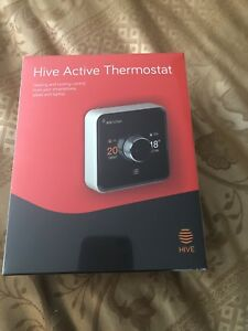 Hive heating and cooling smart thermostat plus hub new in box