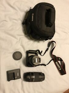 Canon EOS rebel t3 WITH ZOOM LENS