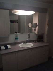 MUST GO FAST!!! Give me your offer... Vanity and storage