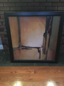 Abstract painting framed  Peterborough Peterborough Area image 1