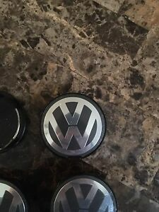 Volkswagen wheel centre caps