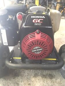 3000psi Honda pressure washer