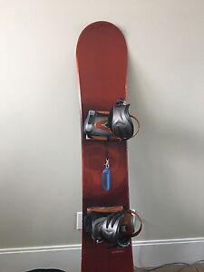 Saloman Snowboard 159cm, Drake Matrix binding