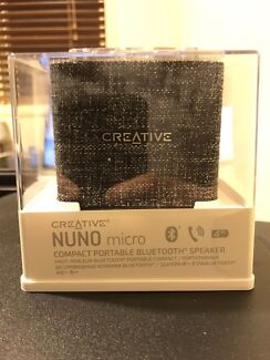NEW Creative Nuno Micro Compact Portable Bluetooth Speaker