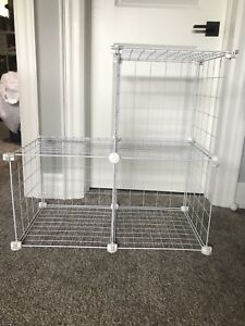 Wire cube shelving unkt