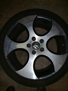 "VW OEM 18"" Detroit wheels"