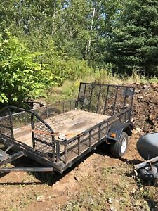 Trailer 5 x 7'.9 inches