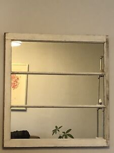 Antique Mirror Window