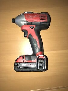 Milwaukee M18 Drill and Driver set