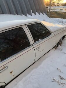 White Oldsmobile Regency For Sale