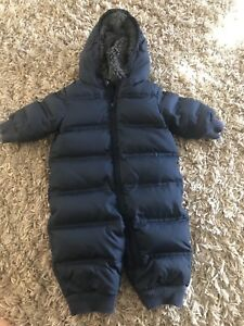 DOWN FEATHER GAP WINTER SUIT 6-12 MONTHS