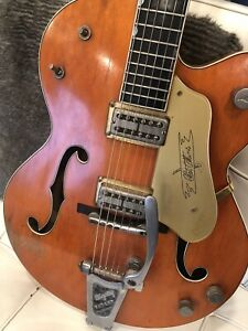 Wanted: old Gretsch electric guitars