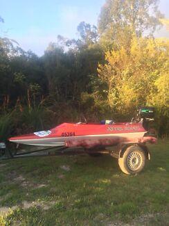 15 Hp Junior Speed Boat