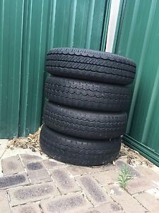 4x tyres for ute Gosnells Gosnells Area Preview