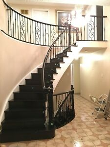 Stairs and handrail deals by professionals 416-457-4624