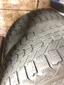 Winterforce Tires on rims