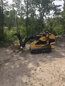 2007 Vermeer S600TX with bucket, fork bucket and grapple