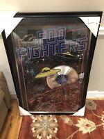 Foo fighters platinum record framed print