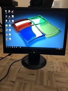 "2x ViewSonic 19"" Widescreen LCD Computer Monitors"