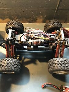 HPI savage 4x4 1/10 RC monster truck