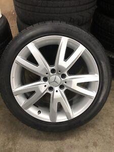 OE Mercedes CLS winter wheels pirelli sotto zero
