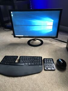 Dell Inspiron Intel Core i5-4460S + ASUS Monitor +  Keyboard