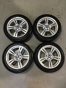 2014 Bmw 328 xDrive GT  Rims and  225-50-18 Michelin X-Ice 90%