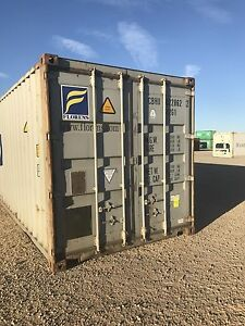 Shipping containers 40ft height and low cube Lemnos Shepparton City Preview