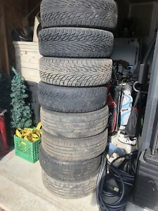 Summer and Winter tires for sale.