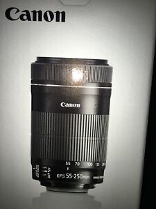 CANON ZOOM LENS EFS 55-250 mm f/4-5.6 IS STM