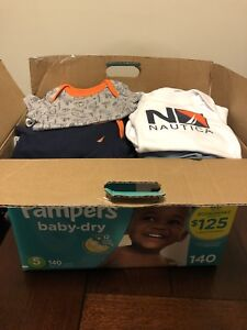 Baby boys 0-6 month clothing lot