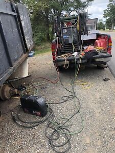 Trailer and truck welding services + Mobile welder