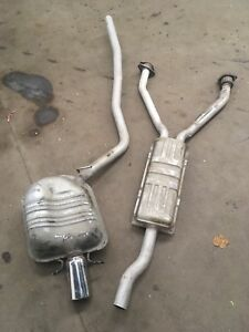 2003 Cadillac CTS 3.2L exhaust