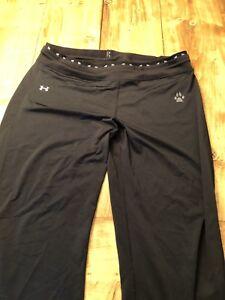XL underarmour wide legged sweats