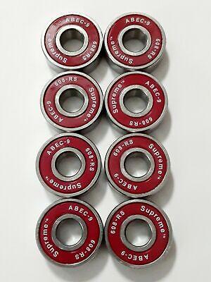 4 Miniature sealed boll bearings22x7x8mm