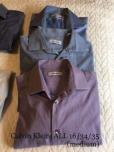 Calvin Klein Men's Dress Shirts $20 lot