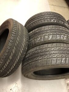 4 All season tires(2 Toyo and 2 Continental):225/60R17